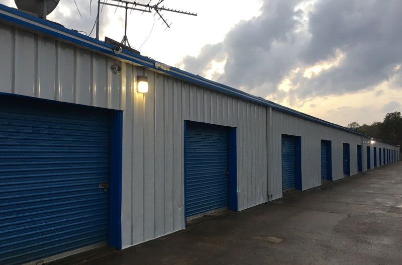 49 and 20 self storage rollup doors